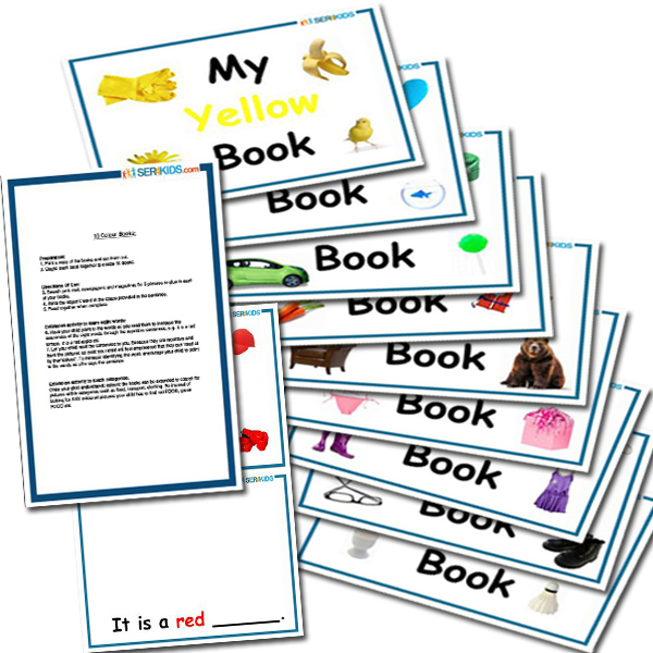 10 Learning Color Books