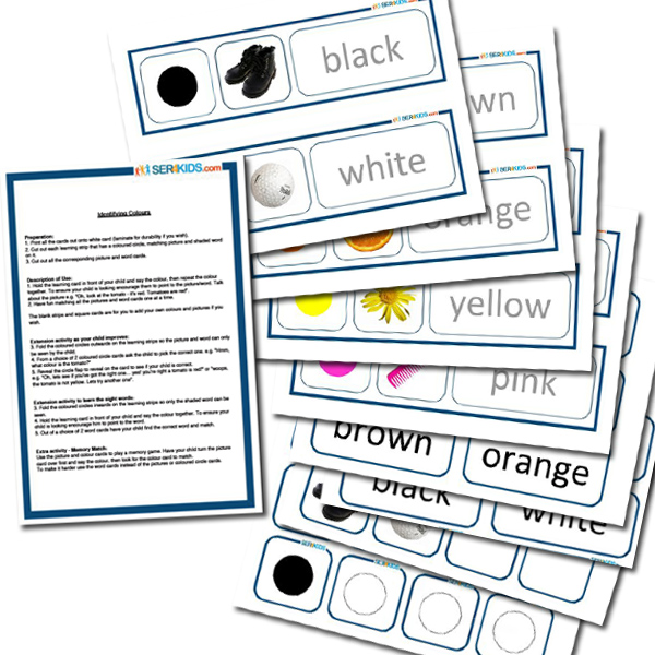 Color Teaching Cards