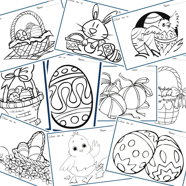 Free Easter Download Worksheet Activities Special Education
