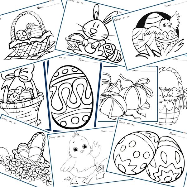 Free Easter Download Worksheet Activities – Free Easter Worksheets